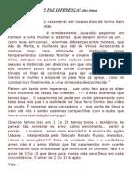 O CASAMENTO QUE FAZ DIFERENÇA(João dernilson)