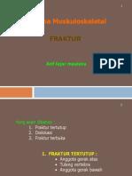1b. Fraktur, Trauma Muskuloskeletal.ppt