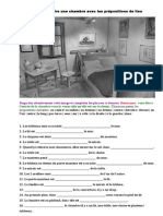 Savoir décrire une chambre avec les prépositions de lieu.doc