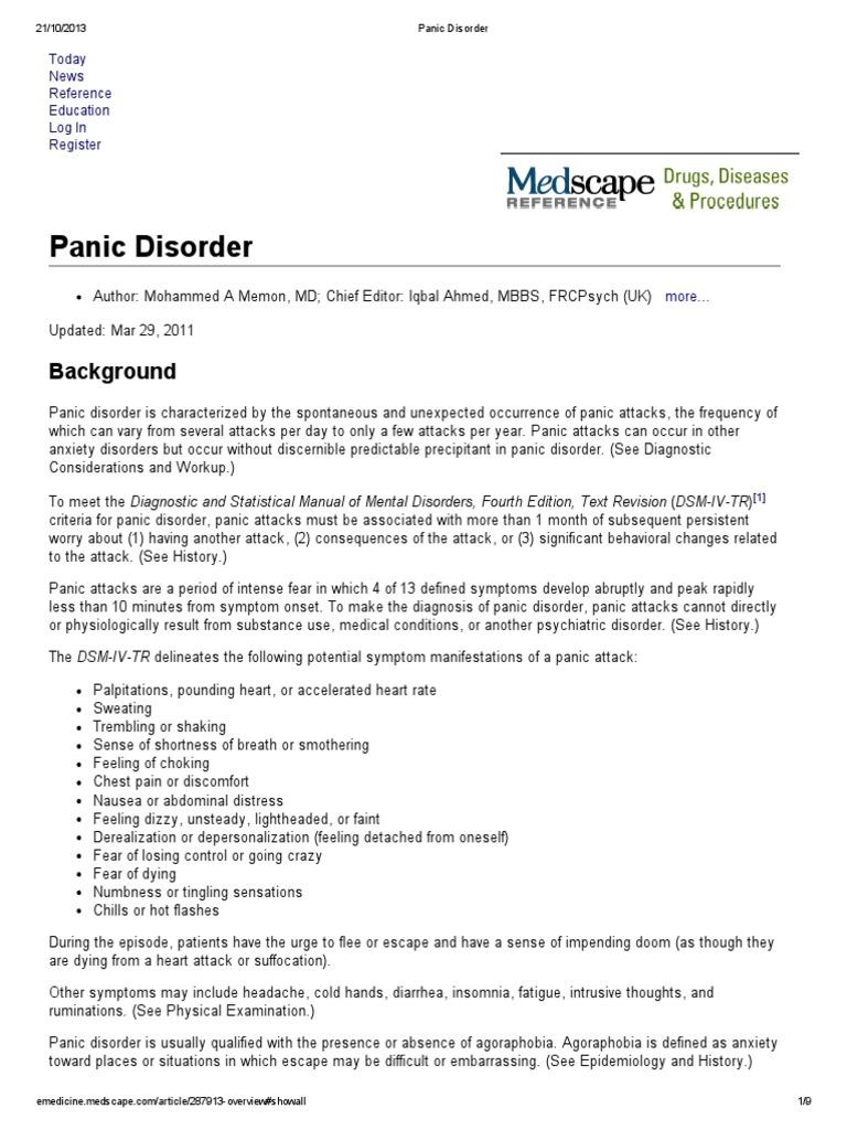 Panic Disorder pdf