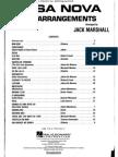 BOSSA NOVA Guitar Arrangements (Arr Marshall)