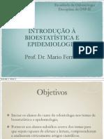1. Epidemiologia e Bioestatisitica