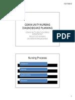 Community Nursing Diagnosis n Health Community Planning [Compatibility Mode]_2