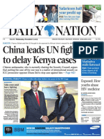 Daily Nation Wednesday 6th November 2013