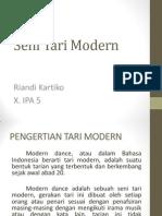 Seni Tari Modern