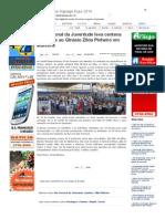SiteBarra » Dia Nacional da Juventude leva centena de jovens ao Ginásio Zilda Pinheiro em Mantena