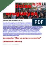 Noticias uruguayas miércoles 6 de noviembre del 2013