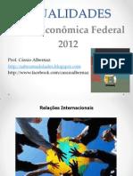 Atualidades CEF 2012 Com Gabarito