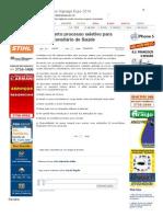 SiteBarra » SGP_ Aberto processo seletivo para Agente Censitário de Saúde