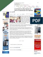 SiteBarra » Secretaria de Saúde de São Gabriel da Palha investe na capacitação dos Agentes de Saúde