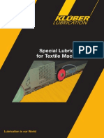 Special Lubricants for Textile Machinery