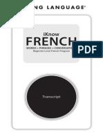 Francusko-Angliski Razgovornik