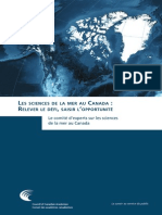 Les sciences de la mer au Canada