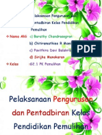 Pelaksanaan Pengurusan dan Pentadbiran Kelas Pendidikan Pemulihan.pptx