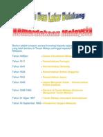 Sejarah Dan Latar Belakang Kemerdekaan Malaysia