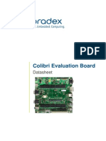 Colibri Arm Evaluation Board Datasheet