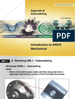 Mechanical Intro 14.5 WSAppB Submodeling
