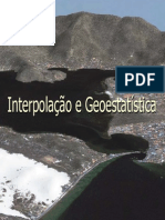 Interpolação e geoestatistica