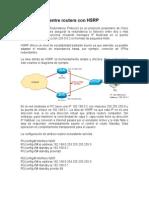 Redundancia Entre Routers Con HSRP