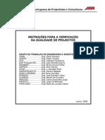 ODSI_264_Instruções Verificação Qualidade Projectos - APPC