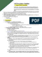 Civil Procedure Outline 2