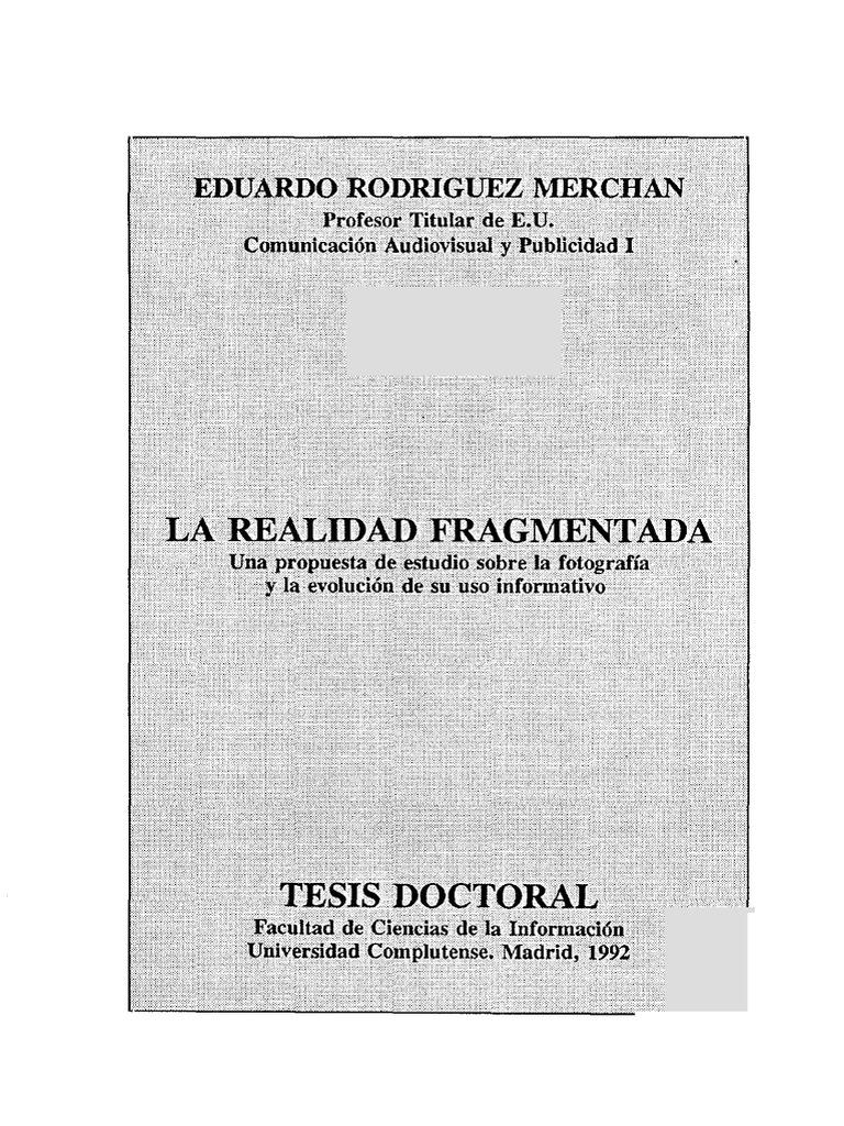 1515ed8e0 Fragmento fotográfico. Tesis doctoral
