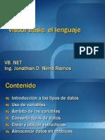 Clase 2.- Visual Basic El Lenguaje
