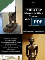 63751361 Imhotep Maestro de Obra El Creador de La Eternidad