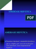 AMEBÍASE HEPÁTICA