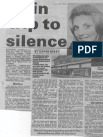Susanne Llewellyn-Jones coverage in the South Wales Echo, 15 June 1990