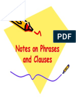 PowerPoint Phrases and Clauses