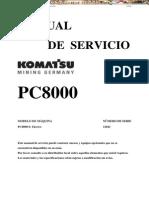 Manual Servicio Pala Hidraulica Pc8000 6e Komatsu