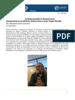 Entrevista Grupo Comuna Luis Tapia