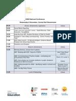 BOND 2013 National Conference - Agenda