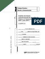 analisis de un diseño comunicacional