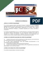 ABCES 2012 Contratos de Aprendizaje