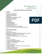 Capacitaciones Ofrecidas en Salud Ocupacional