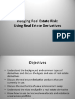 Hedging Real Estate Risk_Real Estate Derivatives