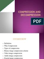 Compression and Decompression techniques