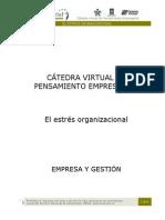 El Estres Organizacional
