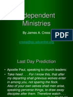 IndependentMinistries&Offshoots.ppt
