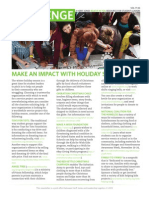 Make an impact with holiday service
