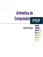 Unidad 4 Aritmetica de Computadoras v2