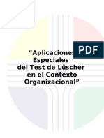 111. Luscher Aplicado en El Contexto Organizacional