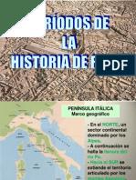 Periodos de La Historia de Roma
