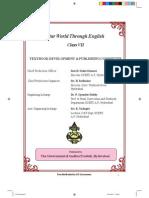 Class 7 English Text Book-AP Syllabus