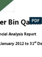 Financial Analysis Report Fauji Fertilizer Bin Qasim Ltd