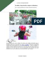 Crimen Organizado Utiliza y Luego Desecha a Mujeres en Honduras