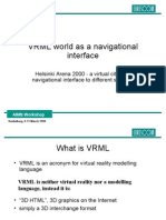 VRML World as a Navigational Interface