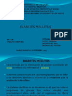 Presentacion Power Point Diabetes Mellitus